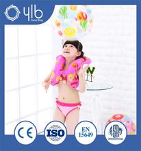Mais novo na moda de espessura PVC material inflável anel de natação para infantil piscina
