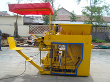DMYF-6A hollow egg layer concrete brick making machine price made in china