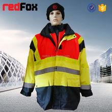 Hi vis protectora chaqueta goretex