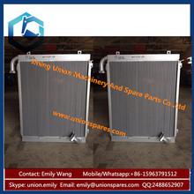 Factory Price Aluminium Hydraulic Oil Cooler Radiator for Excavator China Manufactures