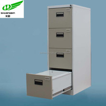Newly structure with screws steel 4 drawer pedestal