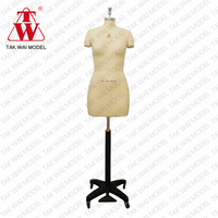 2015 Newest plus size 38 lady female half body adjustable dressmakers dummy