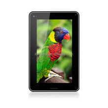 UA710 7 inch Tblets with RAM 512MB/4G Flash 2G Phone Call Function 7 inch Diamond Android 4.0 Tablet PC Made in China