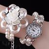Lotus pearl diamond bracelet watch fashionable ladies watches BWL046