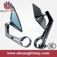 SF-085 FLYQUICK High Quality Rizoma Tomok Universal CNC Aluminum Custom Motorcycle Rearview Mirror Bar End