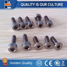 Industrial machin gr5 titanium screw