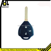 2015 top best car modified transponder remote key and key shells for toyota key shell