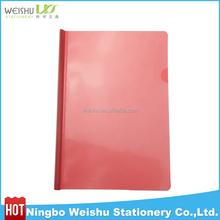 stick file/a4 clear plastic sliding bar file folder/plastic clear file folder