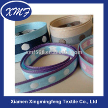 wide jacquard elastic woven webbing