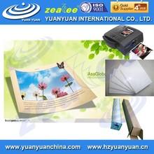 HIGH QUALTIY!! waterproof 180g glossy woven photo paper for inkjet printer in rolls