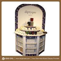 supermarket advertising perfumes display rack