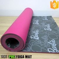Wholesale eco friendly PVC yoga mat exercise mat