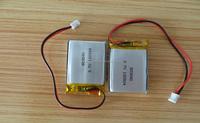 Rechargeable lipo battery pack 3.7V 900mah 1000mah li-ion battery cell