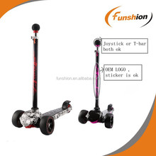 Mini micro scooter,three-wheel kick scooter, two front wheels kid scooter