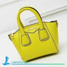 Fashion Women Tote Bag New design PU Leather Handbag for Ladies