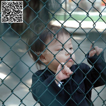 School playground sport fence/ chain link fence (anping factory)