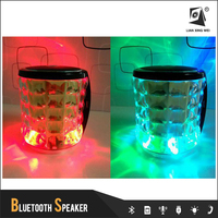 2096a 2015 best gift bluetooth subwoofer speaker with tf card and fm radio , with led flash light of Multi-function Speaker