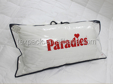 new product clear pvc plastic and nonwoven bedding packaging bag