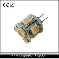 CE & RoHS Certification 12V 24V 1.5W G4 LED Bulbs