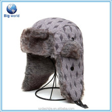 Fashion winter hats and caps with raeflaps/super warm hat cap/hats and cap men