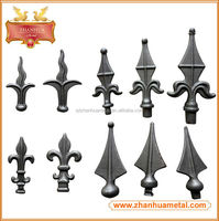 New Design Fence Wrought Iron Gate Spear Point