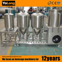 high quality brewing home beer equipment 20l 30l 50l beer machine for hot sale