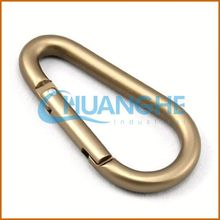 made in china multifunctional heavy duty metal carabiner keychain