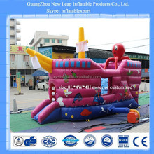 giant inflatable pirate ship slide cheap children slides pirate ship for sale