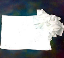 Single Jersey White Cotton Wiping Rags