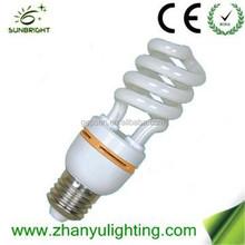 Hot sale Mini half spiral CFL T3 13W E14 with high quality