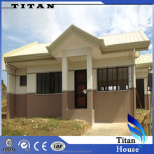 Low Cost Light Steel Prefabricated Tiny Pre Made Houses