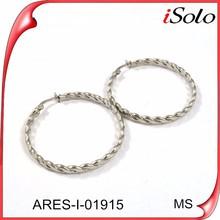 Earring findings wholesale jewellery earrings big round earrings 316l stainless steel