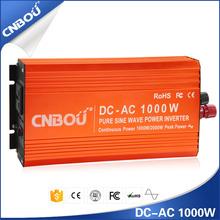 1000w pure sine wave 12v 220v dc-ac power inverter off grid single phase invetrer