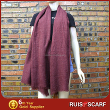high quality big thick scottish cashmere scarf wholesale