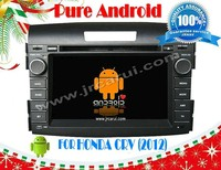 FOR HONDA CRV 2012 android 4.2.2 Car DVD GPS, Cortex A9 Dual Core, Support Rear View Camera/BOD/Steering Wheel Control