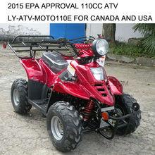 2015 EPA approval EPA ATV for Canada and USA LY-ATV-MOTO110E