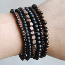 Factory Direct Price Elastic Bead Bracelet Men