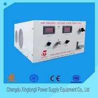hot sale products 200A 12V/18V/24V AC/DC high frequency switching plating power supply made in china