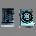 molde conector eletrônico