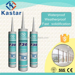 General purpose acetic acid silicone sealant