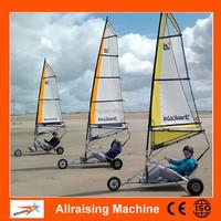 Stainless Steel Frame Sailing Cheap Adult Pedal Go Kart, Racing Go kart, Sailing Kart for Fun