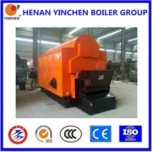 Used well biomass or coal fired chain grate stoker fire tube boiler