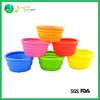 Manufacturer food grade anti-skid silicone folding dog bowls