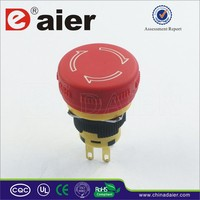 emergency push button switch,16mm waterproof emergency stop switch push button,emergency stop button