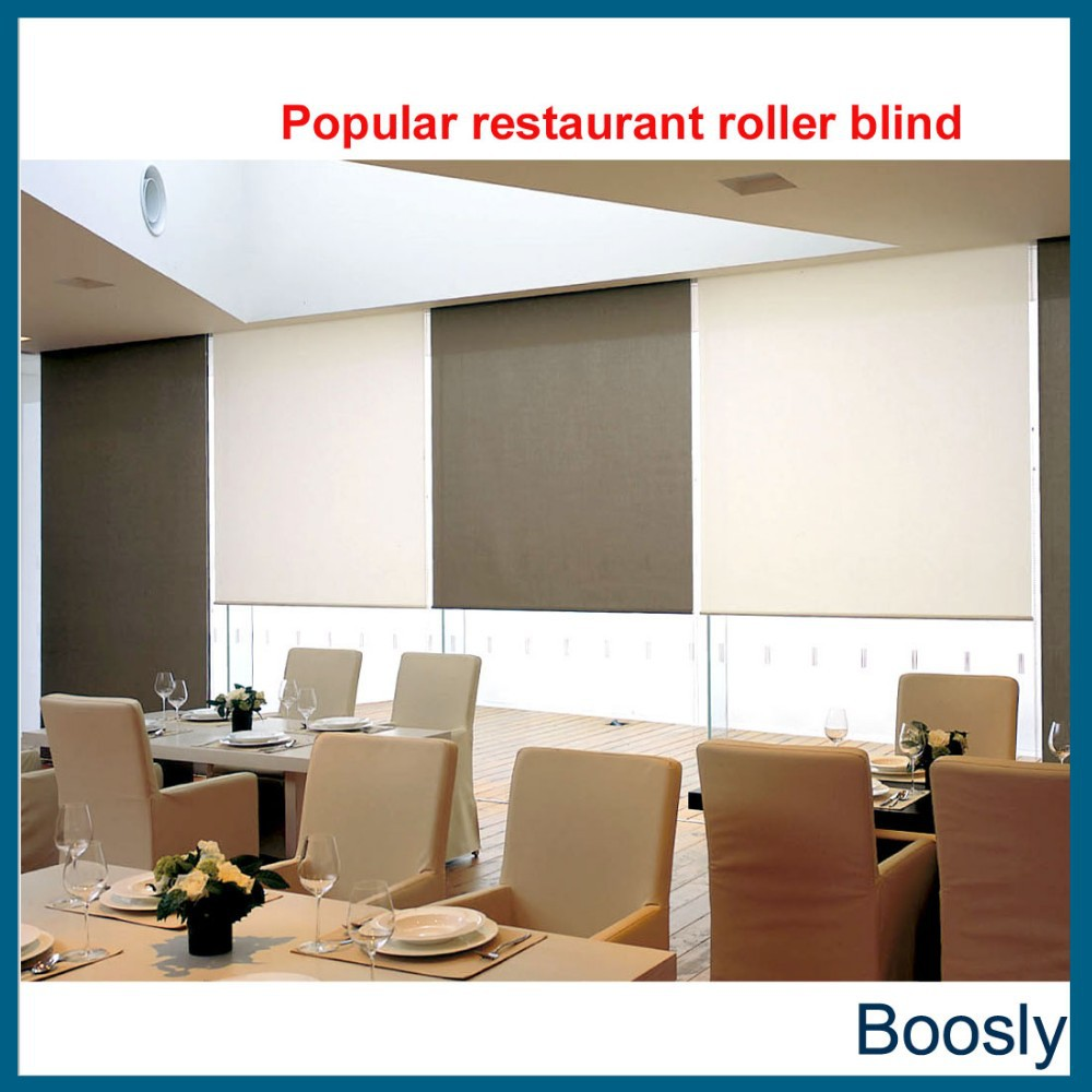 Remote control electric rolling blinds buy roller blinds for Motorized blinds remote control