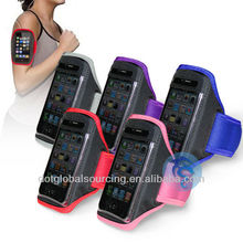deportivos de teléfono bolsa de brazalete de teléfono de la tapa el funcionamiento de la bolsa desechable cubierta del teléfono