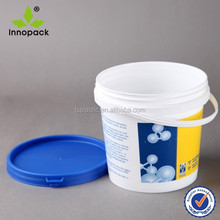 Plastic food storage container 4liter for jam