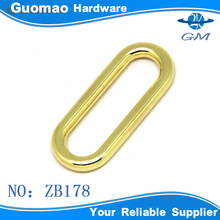 Oval round shape flexible metal ring