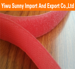 Durable colored cheap price hook an loop velcro tape