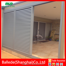 movable louver doors
